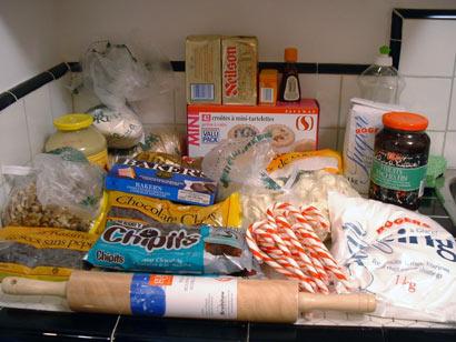 holiday baking rules.