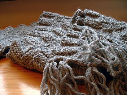 hand-made scarfy goodness